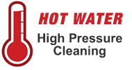 hot water high pressure cleaning